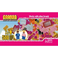 BESTLOCK 500 PIECE GIRLS TUB (BES03510)