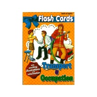 FLASH CARDS TRANSPORT & OCCUP (BLU470272)