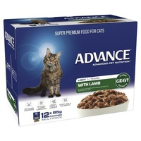 ADVANCE 1+ Years Light Cat With Lamb In Gravy (CA85LCLC12X85)