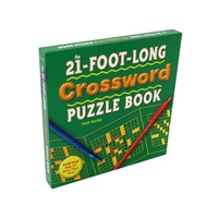21FT LONG CROSSWORD PUZZL.BOOK (CAPL745508)
