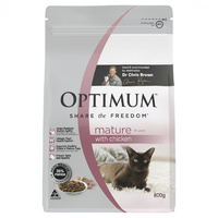 Optimum Cat Mature Chicken 800g (CFO0230)