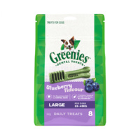 GREENIES BLUEBERRY LARGE (340G) (331412) (DGBL340)