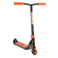Dominator Trooper Freestyle Trick Scooter - Black Orange (DOM19002)