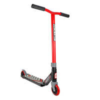 Dominator Scout Freestyle Trick Scooter - Red/Black (DOMM19005)