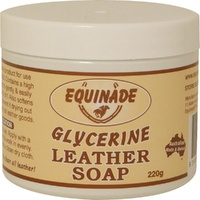 EQUINADE GLYCERINE SADDLE SOAP 220G BAR (E9700)