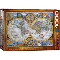 Antique World Map 1000 Piece (EUR62006)