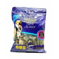 FISH 4 DOGS SEA JERKY FISH SQUARES 100G (F3711)