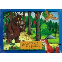 GRUFFALO FRAME TRAY PUZZLE 35 PIECES ASSORTED (HOL064779)