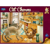 CAT CHARMS RARA KITCHEN Jigsaw Puzzles 1000 Pieces (HOL096459)