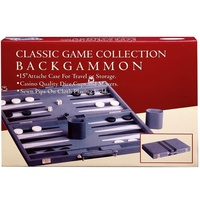 "BACKGAMMON 15"" VINYL, STITCHED (HSN38015)"