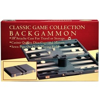 "BACKGAMMON 18"" VINYL,STITCHED (HSN38018)"