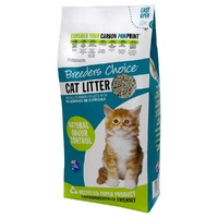 BREEDERS CHOICE CAT LITTER 6L/2KG 5'S - Excludes WA & Regional Deliveries (L3810)