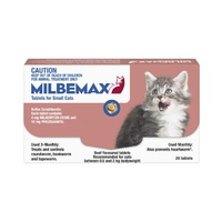 MILBEMAX TASTY SML CAT 20'S (M1000)