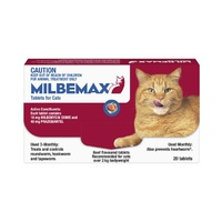 MILBEMAX TASTY LGE CAT 20'S (M1020)