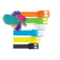 LAND & SEA SILICONE BELT - SENSATIONAL VALUE - 6 GREAT COLOURS AVAILABLE
