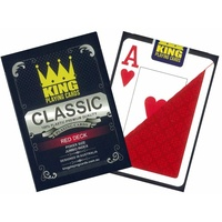 CLASSIC POKER 100% PLAS.RED (PC354879)