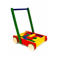BABY WALKER WITH BLOCKS (PIN12506)