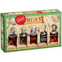 GREAT MINDS SET OF 5 (PRO531812)