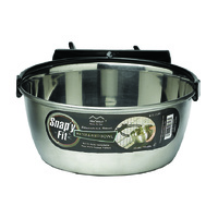 MIDWEST SNAPY FIT S/S BOWL 1L STAINLESS STEEL (Q0612)