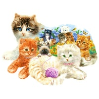 A LITTER OF KITTENS PUZZLE 1000PC (SUN95958)