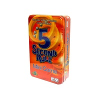 5 SECOND RULE CARD GAME (TIN) (UNI01092)