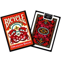BICYCLE POKER DRAGON RED/BLUE (USP01830)