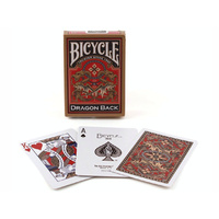 BICYCLE POKER DRAGON BACK GOLD (USP01955)