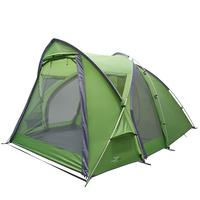 Vango Cosmos 400 4 Person Camping & Hiking Tent - Pamir Green (VTE-CO400-Q)