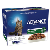 ADVANCE CAT LIGHT LAMB 85G 12'S (W5403)