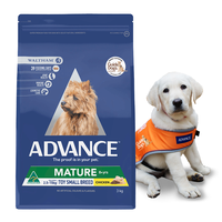 ADVANCE ADULT DOG MATURE TOY SMALL BREED CHICKEN 3KG 374940 (W5428)