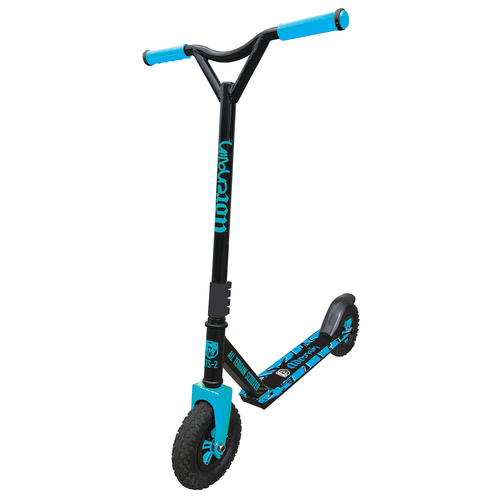Adrenalin All Terrain 2 ATS-2 Off Road Kids & Adult Stunt Push Scooter - Blue